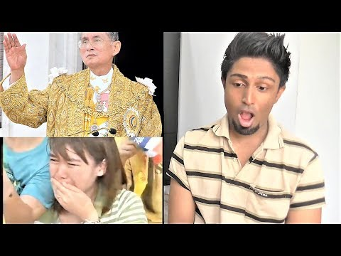 KING OF THAILAND ❤❤❤ REACTION
