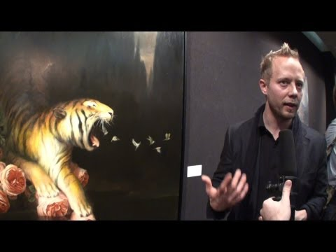 Martin Wittfooth - Artist Spotlight (The National Arts Club, NYC 2013)