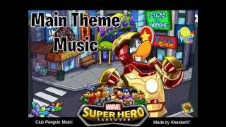 Club Penguin: Marvel Super Hero Takeover 2013 - Main Theme