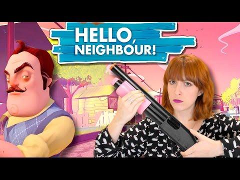Tú loco y yo armada!! juguemos!! | HELLO, NEIGHBOUR!
