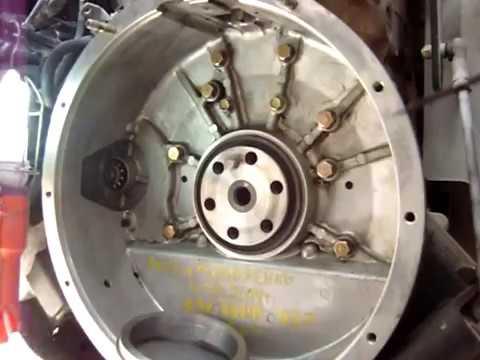 Замена коренного сальника с металлической обоймой FE6