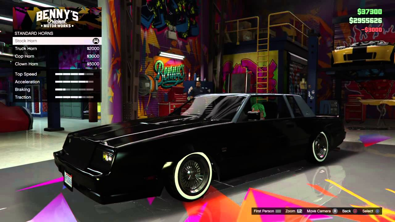 2015 Buick Grand National >> Gta 5 Willard Faction customization - YouTube