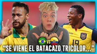 🇧🇷 BRASIL vs ECUADOR 🇪🇨 ELIMINATORIAS QATAR 2022 🏆 FECHA 7 ⚽ PRONOSTICO & PREDICCION
