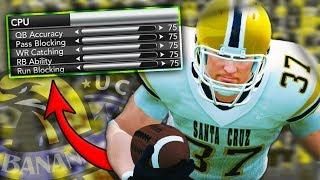 MAKING IMPOSSIBLE SLIDERS VS. #3 OKLAHOMA   NCAA 14 Banana Slugs Dynasty Ep. 64