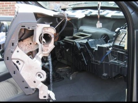 2008 Dodge Nitro Engine Diagram Paslode Framing Nailer Parts Blend Doors And Evaporator Replacement - Part 1, Removal Youtube