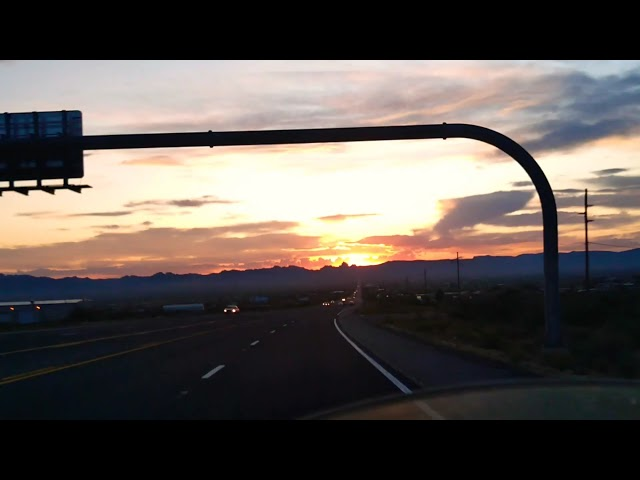 Golden Valley Arizona Sunset