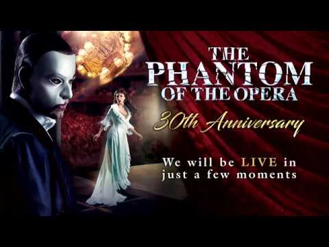 Ben Forster - Phantom 30th Anniversary encore performance - 9 October 2016