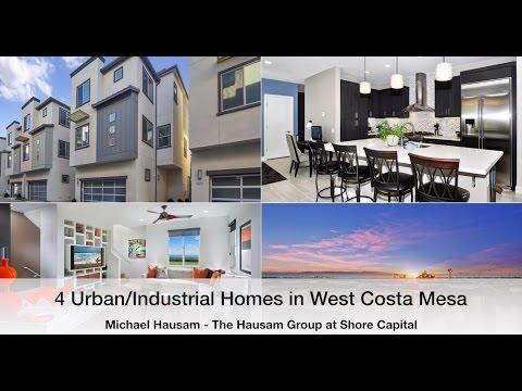 4 Urban Industrial Homes in West Costa Mesa