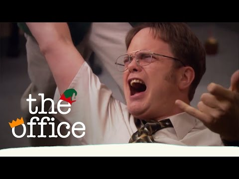 Dwight's Christmas Rock Out  The Office US