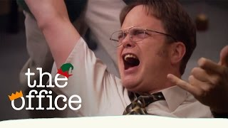 DAY 8: Dwight's Christmas Rock Out! // The Office US