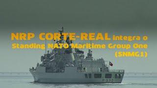 NRP Corte Real, larga de Lisboa para integrar a SNMG1