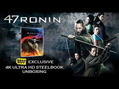 Download 47 RONIN - 4K ULTRA HD - BEST BUY EXCLUSIVE STEELBOOK UNBOXING!
