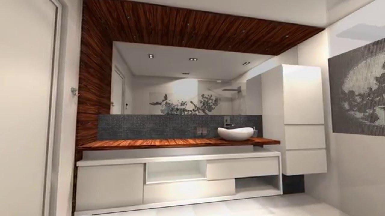 Moderne badkamer met design meubels youtube - Badkamer meubels ...