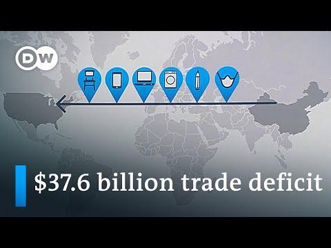 US-China trade deficit skyrockets   DW News