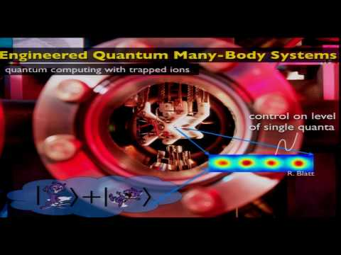 Peter Zoller - Synthetic Quantum Matter with Cold Atoms and Ions (QM90)