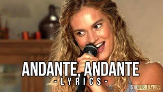 Mamma Mia 2 - Andante, Andante (Lyrics) HD