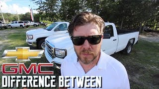 Whats the Difference Between - GMC Sierra & Chevy Silverado | Truck VLOG Comparison Review