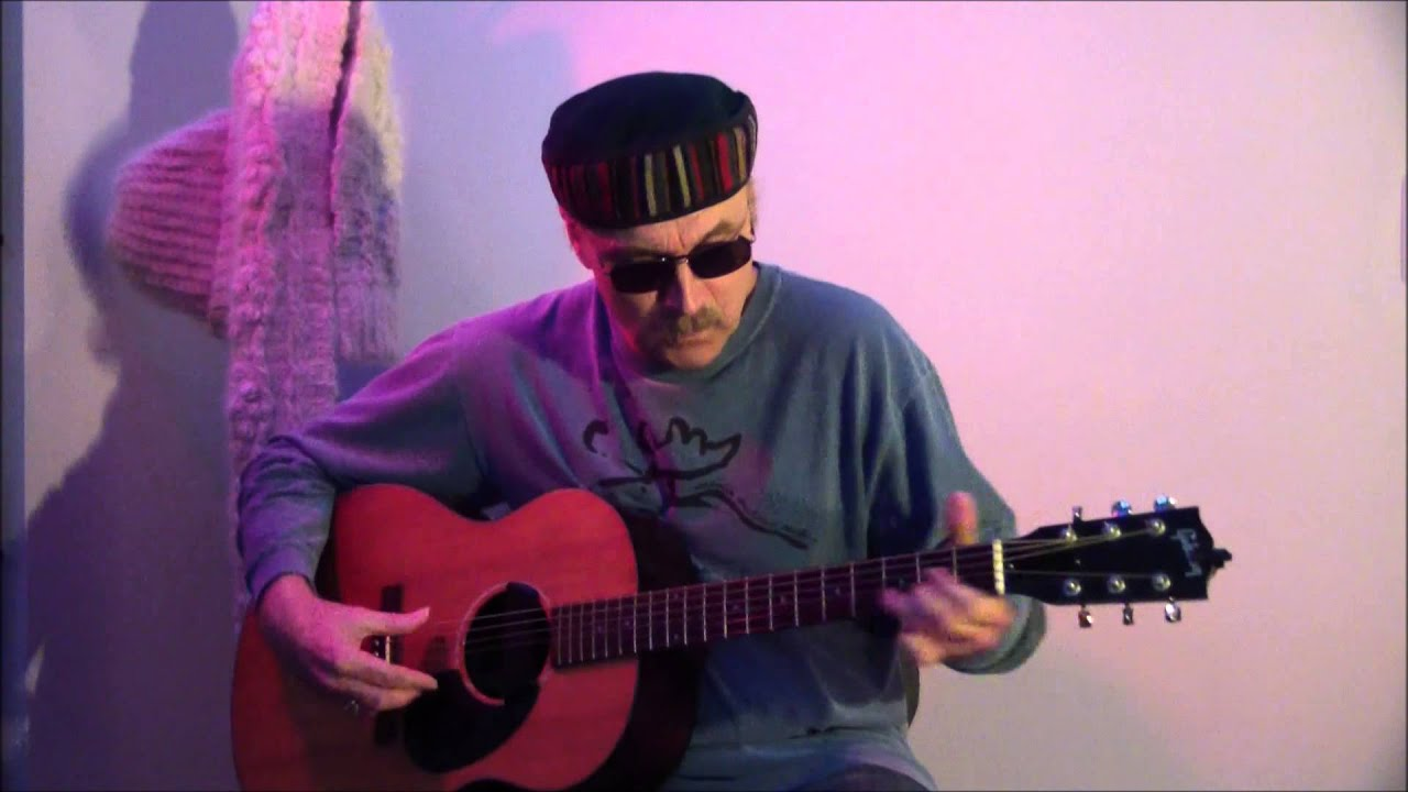 jimi hendrix purple haze acoustic cover with loop control
