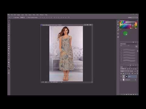 Photoshop Elbise Desen Kaplama (Daha Kolay)