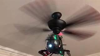 Ceiling fan helicopter