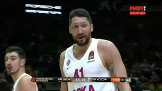 CSKA Moscow @ Valencia Basket - 2/8/2018