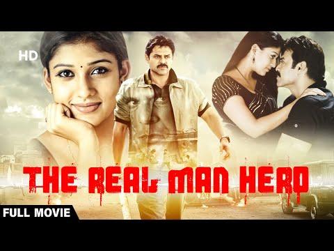 The Real Man Hero   Full Movie   Venkatesh   Action Movie   Nayanthara   New Hindi Dubbed Movie