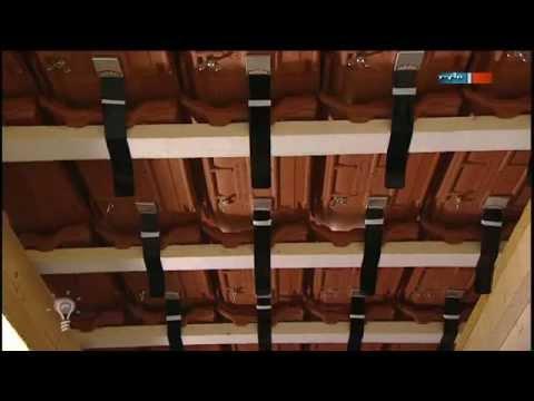 Favorit Sturmsicherer Dachziegel - MDR Einfach genial - 09.10.2012 - YouTube EO95