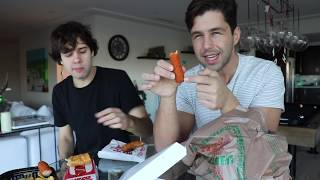 7-ELEVEN FOOD MUKBANG ft DAVID DOBRIK!