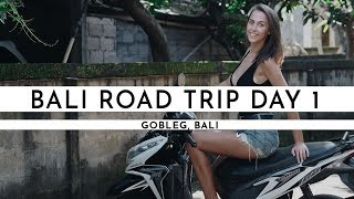 GOING ON A SCOOTER ROAD TRIP AROUND BALI!!! | Bali Road Trip Day 1 |TRAVEL VLOG #7