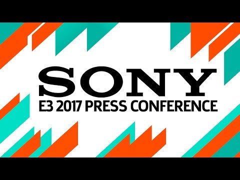 E3 2017: Sony Press Conference Live (Pre-Show at 5:30pm PST)