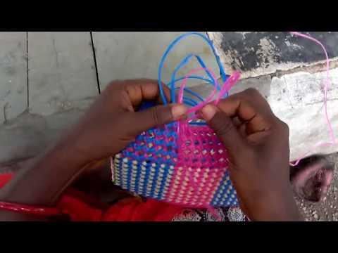 Pooja Koodai Pinnuvathu Eppadi (Wire Basket Pooja Koodai Weaving)