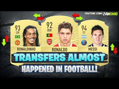 MOST SHOCKING TRANSFERS THAT ALMOST HAPPENED IN FOOTBALL HISTORY! 😵😱