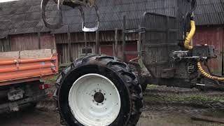 New forest tractor Valtra N154e and Kesla tire problem