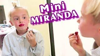 Mini Miranda Takes Over the Show!