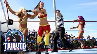 Mickie James, Bayley & Sasha Banks vs. Absolution - Six-Woman Tag: WWE Tribute to the Troops 2017