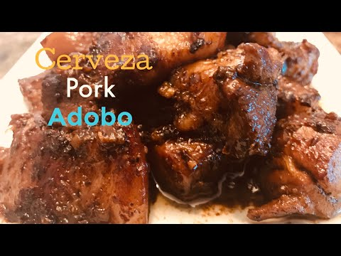 HOW TO MAKE AUTHENTIC BEER PORK ADOBO