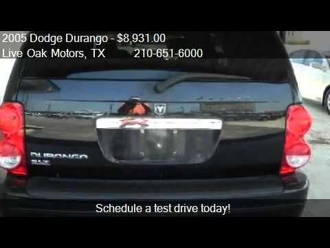 2005 Dodge Durango SLT 2WD - for sale in Live Oak, TX 78233