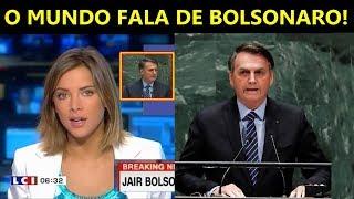 Imprensa Internacional fala de Jair Bolsonaro e seu Discurso na ONU
