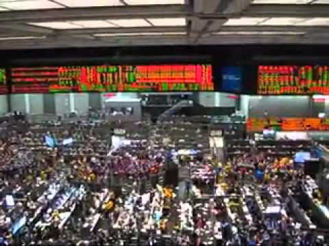 2012/10/25 Chicago Board of Trade CBOT CME Trading Floor 3