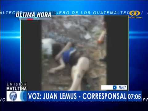 Hallan Cadáver De Mujer En Chiquimula