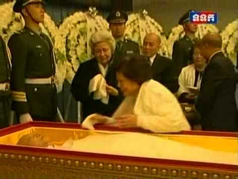 Repatriation of HM King Father Norodom Sihanouk from Beijing to Phnom Penh 17 10 2012 Part2