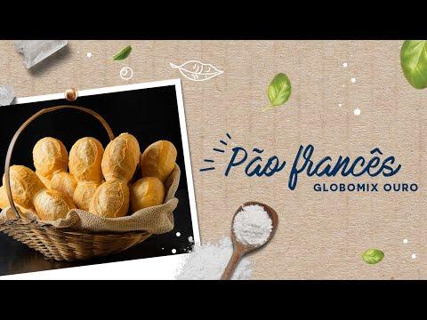 Pão Francês — Globomix Ouro