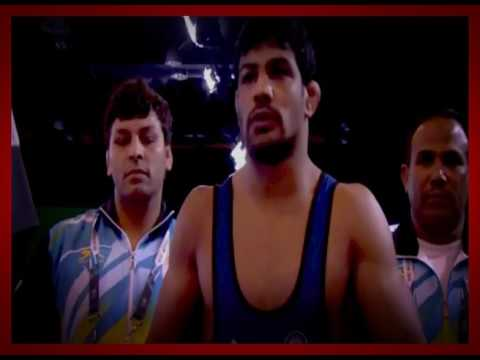 take a interview of great indian wrestler sushil kumar