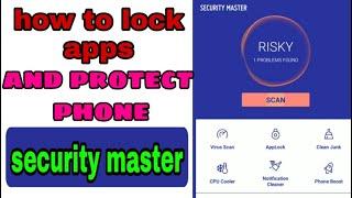 Security master lock apps and protect phone||clean junk,kill virus screenshot 3
