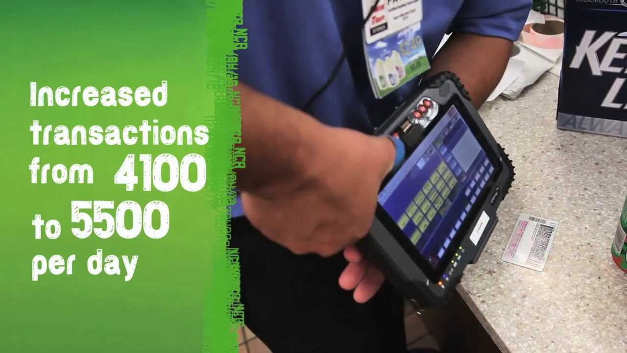 Ncr Petroleum And Convenience Tablet Pos For Kwik Trip