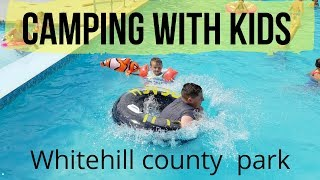 CAMPING WITH TWO KIDS / FAMILY HOLIDAY IN THE UK/ WHITEHILL COUNTY PARK