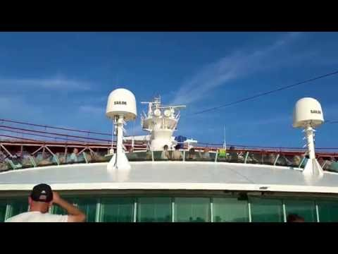 Cruising the Tagus River from Lisbon on the Independence of the Seas