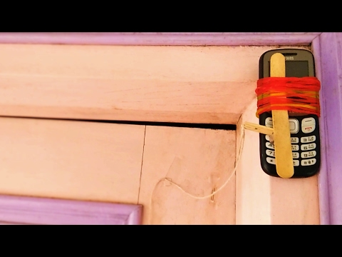 How to Make A Theft Alert Alarm | Phone Security System✔
