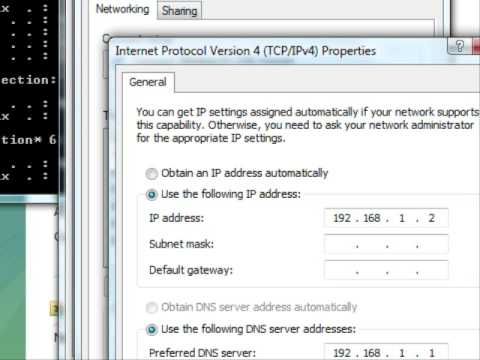 How to Change the ip address on Vista « Computer Networking