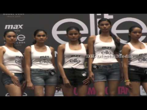 MAX Fashion Show - Final Round In Mumbai Auditions- Elite  Model Look India 2015